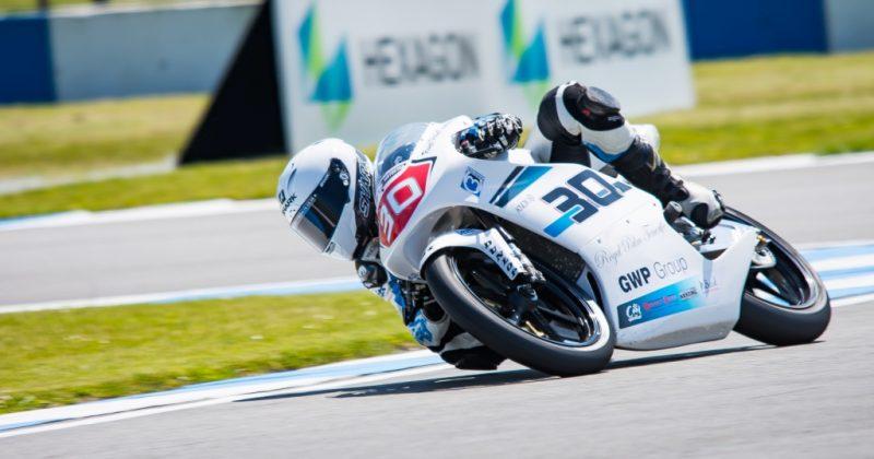 Wilson Racing wildcard in NEC Moto3 at Donington Park