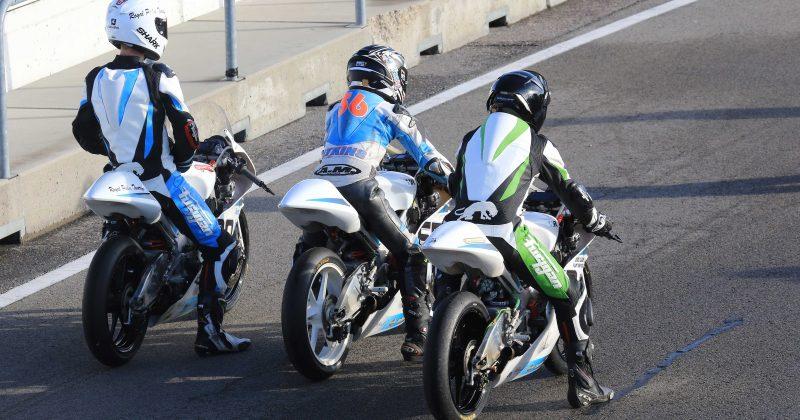 Wilson Racing on the podium in Assen