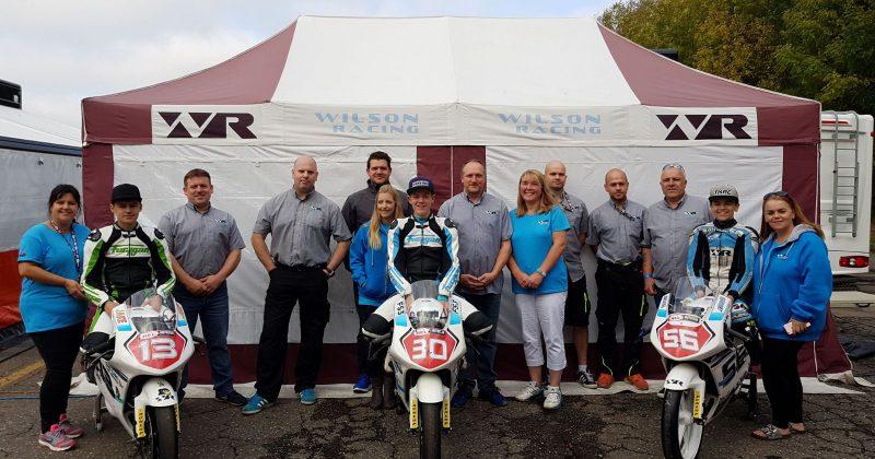 Wilson Racing end season with three podium finishes