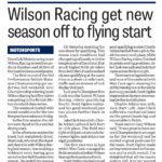 Derbyshire Times 19 April 2018 Wilson Racing