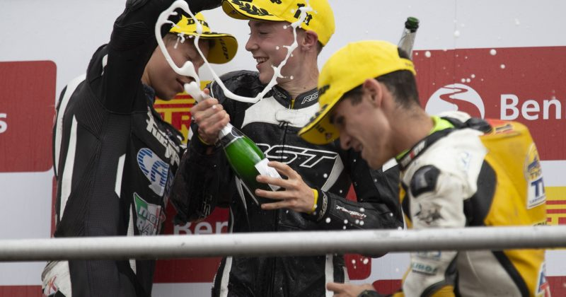 Moto3 victory and a second podium for Wilson Racing at Brands Hatch