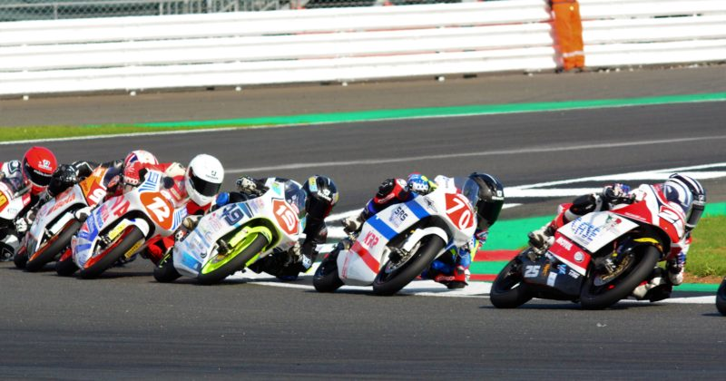 A podium for Ogden and Wilson Racing at Silverstone