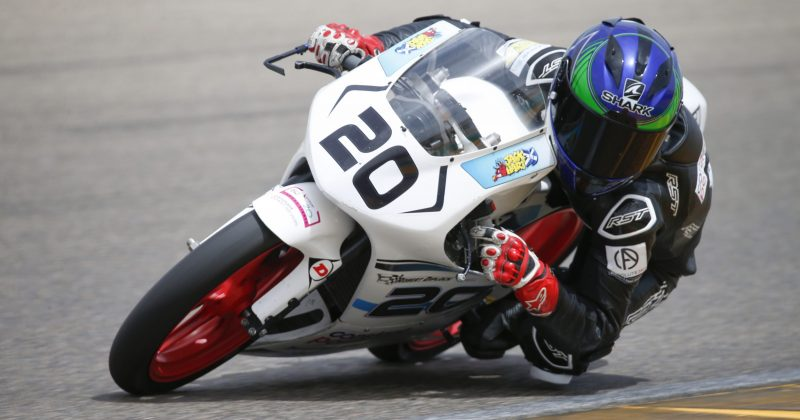 Wilson Racing just outside the top 20 in European Talent Cup Aragon