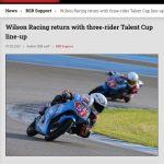 Wilson Racing line up 2020