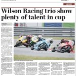 Wilson Racing Sheffiled telegraph