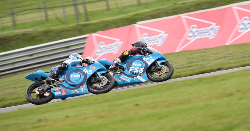 Moto3 season ends brightly for Wilson Racing