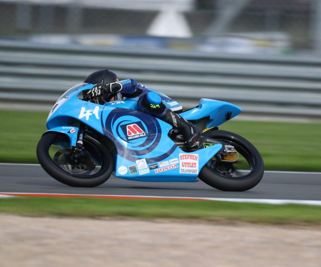 Wilson Racing 2021 Luca Hopkins Donington