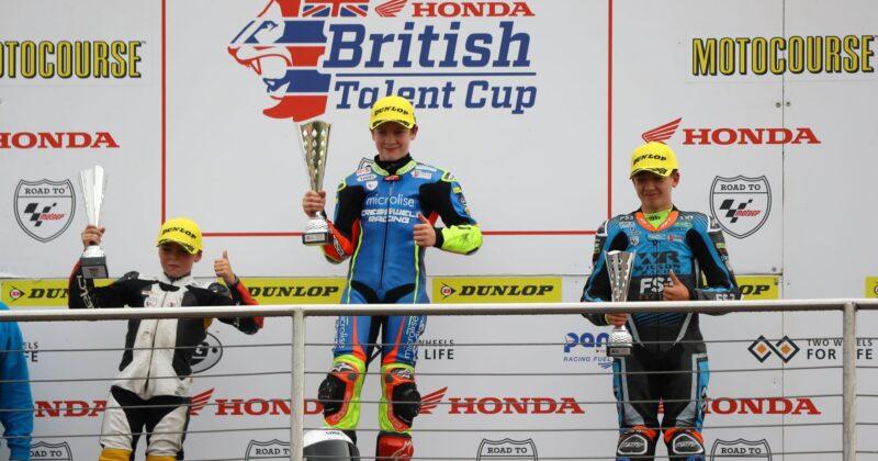 Double podium at Donington National