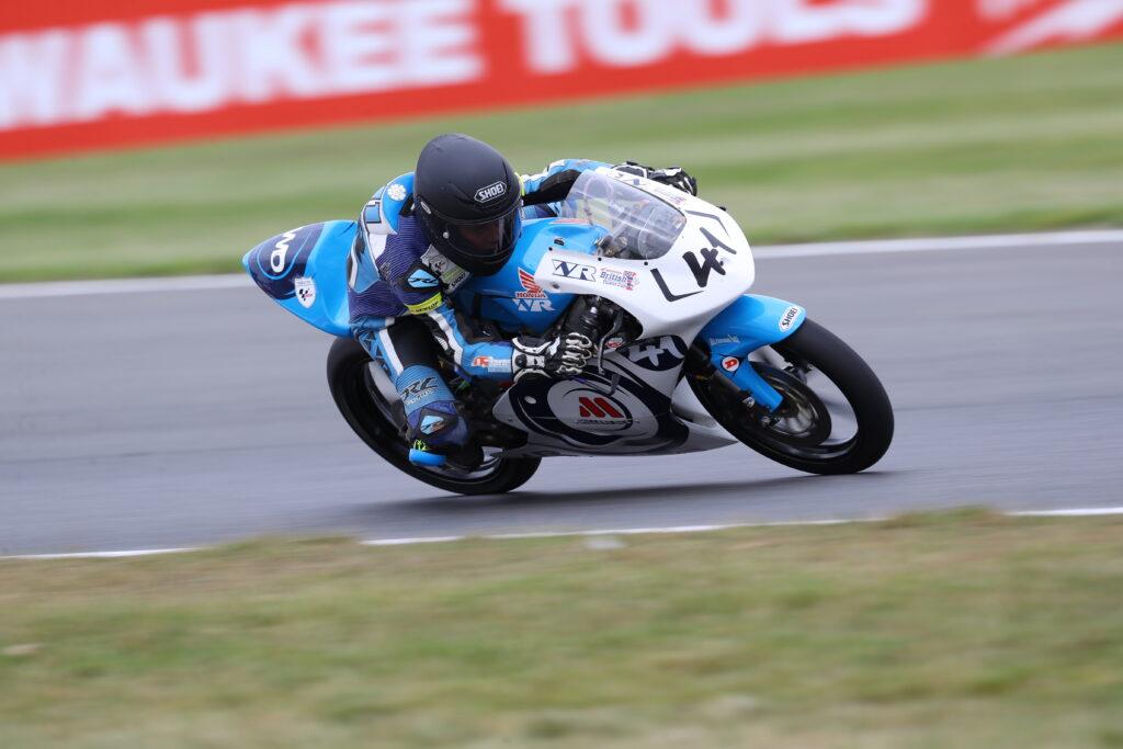 Wilson Racing Luca Hopkins Snetterton 2021