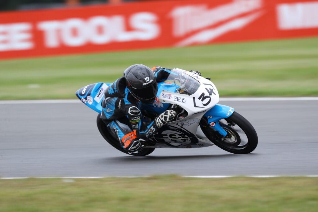 Wilson Racing James Cook Snetterton 2021