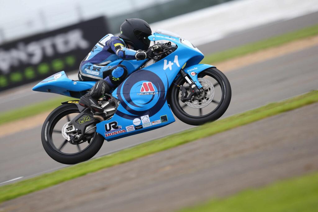 Wilson Racing Silverstone Luca Hopkins