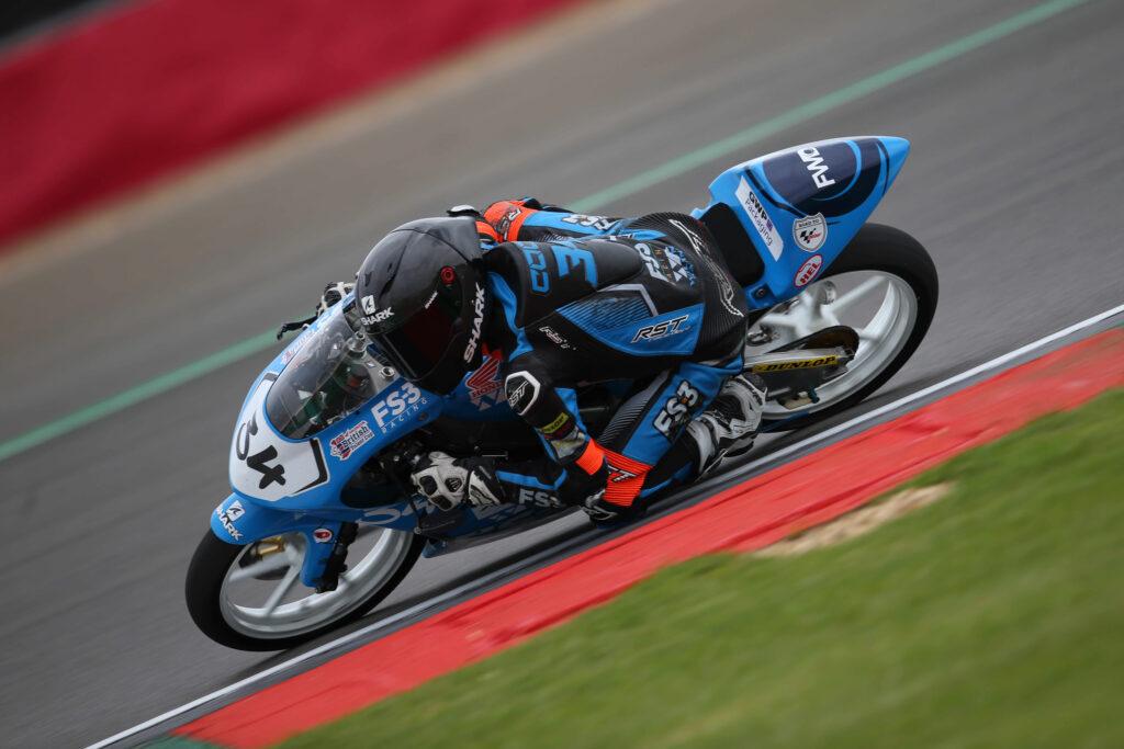 WIlson Racing James Cook SIlverstone
